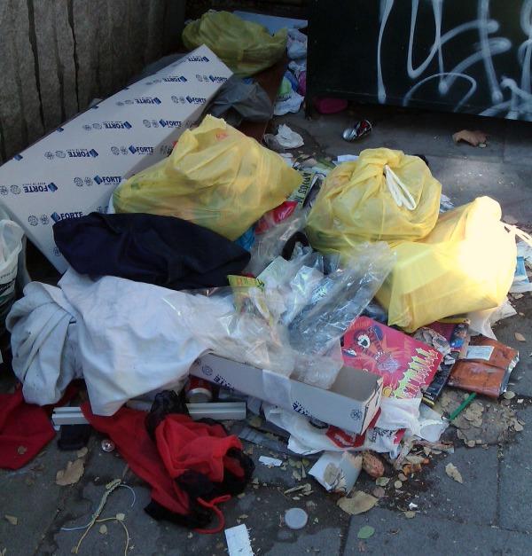 El Ayuntamiento de Madrid podrá inspeccionar las bolsas de basura