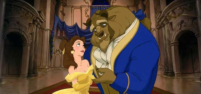 Fotograma de la película de Disney 'La bella y la bestia'