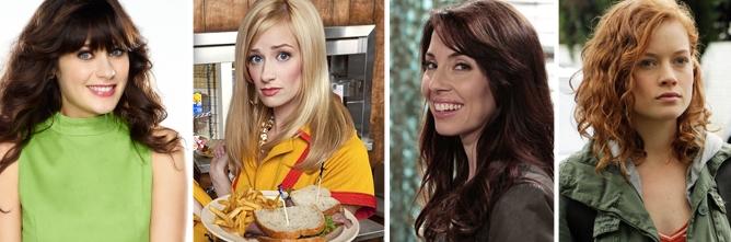 'New Girl', '2 Broke Girls', 'Whitney' y 'Suburgatory', comedias sin chispa