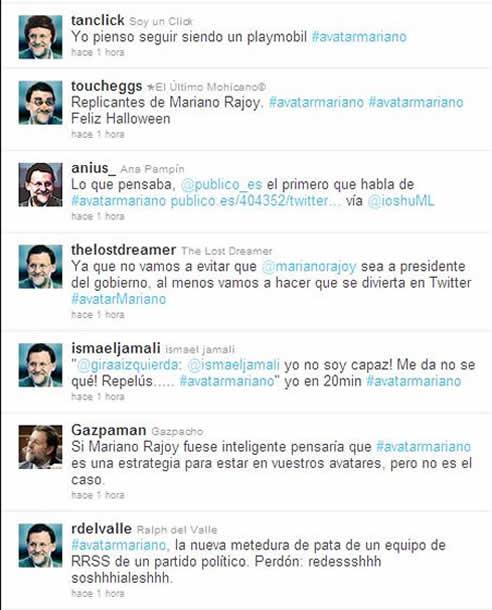 Cientos de usuarios de Twitter han cambiado su foto de perfil por una caricatura de Marino Rajoy