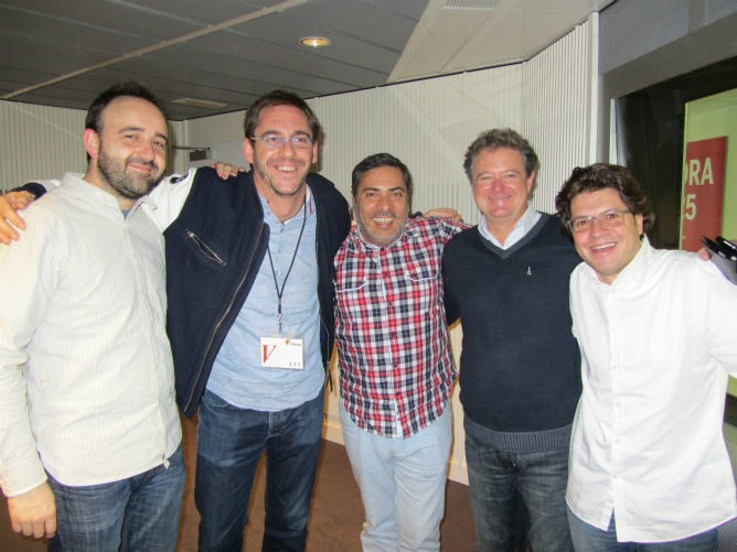Juan Luis Cano y el cómico Luismi nos presentaron 'Comedia Pa Tós'