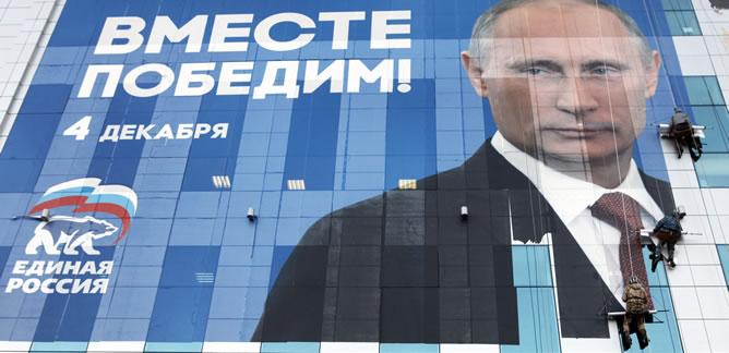 Rusia vota en unas elecciones legislativas que son la antesala de las presidenciasles de 2012