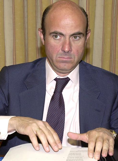 Luis de Guindos, nuevo ministro de Economía y Competitividad, en imagen de archivo