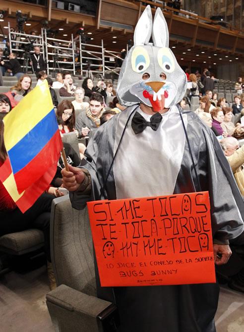 FOTOGALERIA: El conejo de la suerte