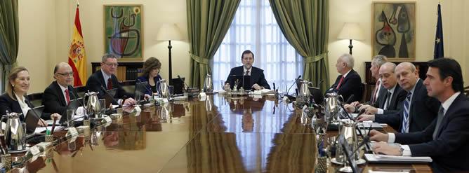 Rajoy pone deberes a sus ministros y ratifica que habr for Clausula suelo consejo de ministros
