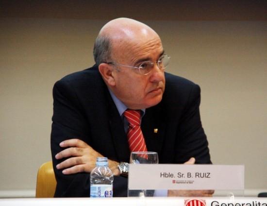 El conseller de Salut, Boi Ruiz