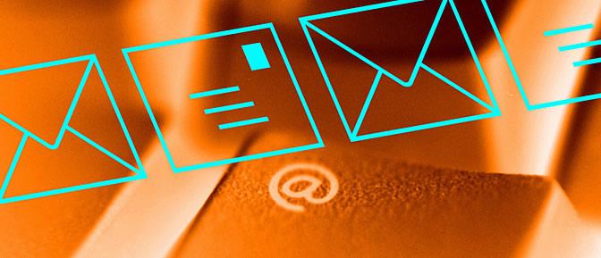El correo electrónico es uno de los servicios más utilizados en Internet
