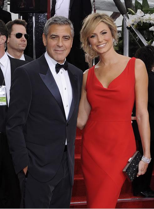 FOTOGALERIA: George Clooney y su novia, en la alfombra roja