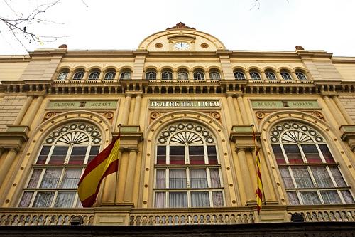 Façana del Gran Teatre del Liceu