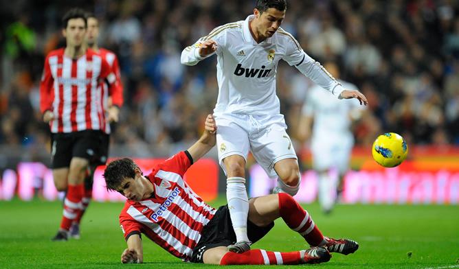 El portugués, determinante en la victoria del Real Madrid en el Bernabéu ante los de Bielsa