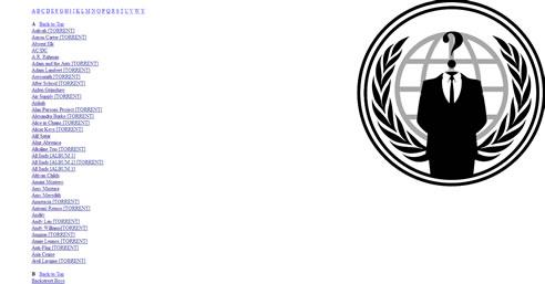 La discografía de Sony publicada en Internet por Anonymous