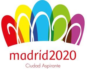 El logotipo de la candidatura madrileña para los Juegos Olímpicos de 2020 está inspirado en la Puerta de Alcalá y es obra del estudiante aragonés de diseño gráfico Luis Peiret