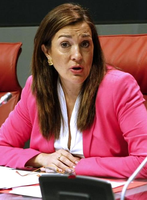 Soraya Rodríguez, portavoz del grupo parlamentario socialista en el Congreso de los Diputados