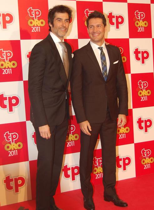 FOTOGALERIA: Jaime Cantizano y Jorge Fernández, presentadores de la gala