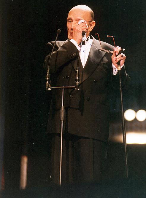 FOTOGALERIA: Premios Goya 1999. Las lágrimas de Tony Leblanc