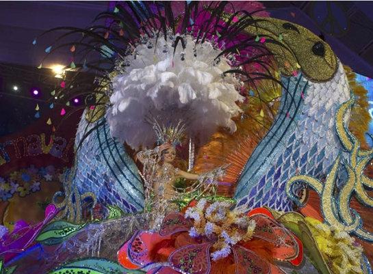 FOTOGALERIA: Estallido de color en el carnaval de Santa Cruz de Tenerife