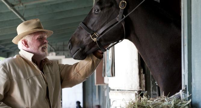 Nick Nolte, en el papel de Walter Smith en la nueva ficción de HBO, 'Luck'