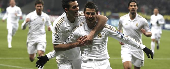 El portugués ha marcado el tanto del Real Madrid en la ida de los octavos de final de la Liga de Campeones