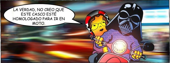Tira cómica de Rubén González