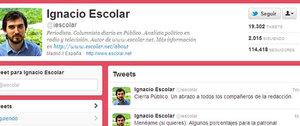 Ignacio Escolar, primer director del diario, ha confirmado en Twitter en cierre