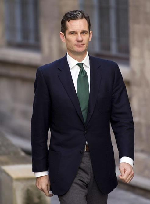 Urdangarin llega con actitud seria a los juzgados de Palma de Mallorca