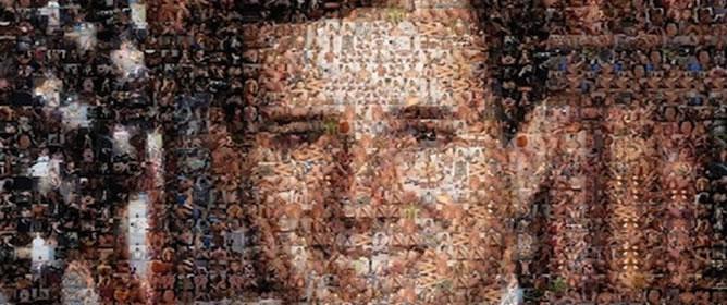 El retrato de Rick Santorum, usando imágenes de películas de porno gay
