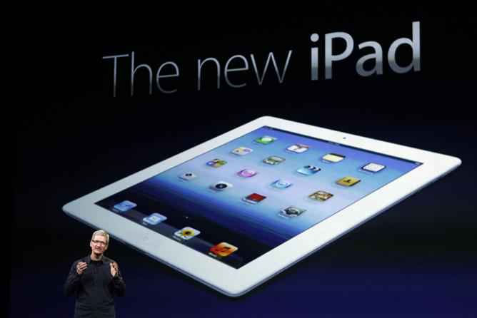 Tim Cook presenta el 'nuevo iPad' de Apple en el Yerba Buena Center