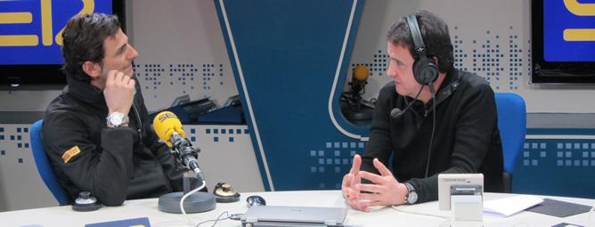 El piloto pasó por 'El Larguero' para analizar la nueva temporada que empiza