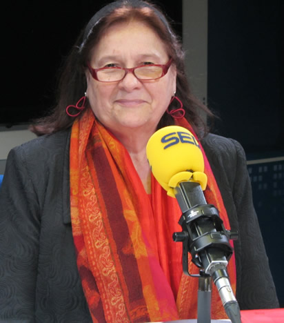Ana María Llopis, presidenta de Supermercados Día, ha destacado en 'Hoy por Hoy' la importancia de la conciliación entre la familia y la carrera profesional
