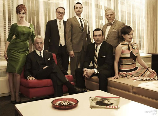 FOTOGALERIA: El reparto de 'Mad Men'