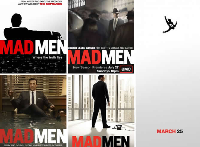 'Mad Men': cinco carteles y múltiples incógnitas