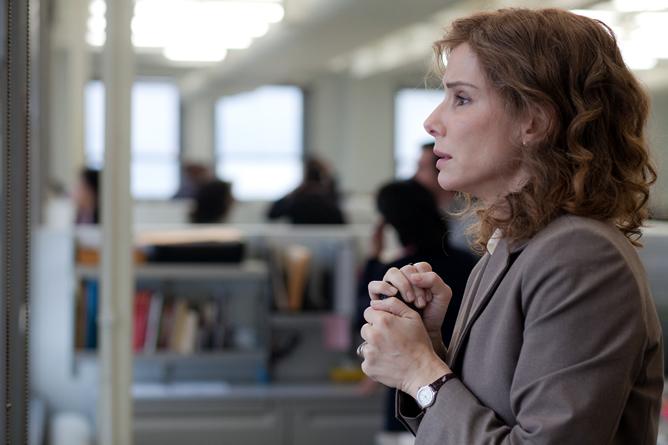 Sandra Bullock mira las Torres Gemelas en la película 'Tan fuerte, tan cerca'