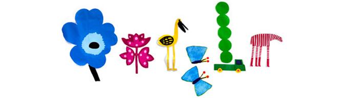 El primer día de la primavera es el motivo escogido este martes por Google para su doodle, con un diseño de Marimekko. La primavera astronómica llegará este martes 20 de marzo a las 06.14 horas