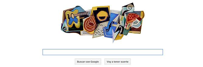 Juan Gris: doodle cubista