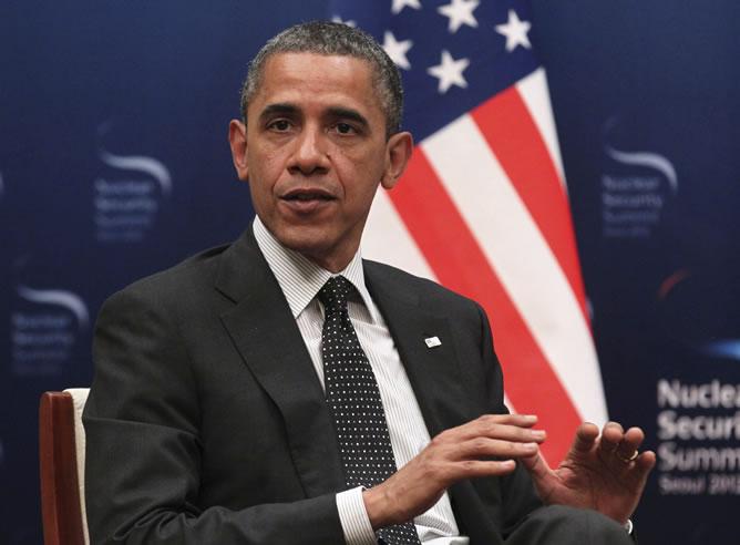 El presidente de EEUU, en la Cumbre sobre Seguridad Nacional (EFE)