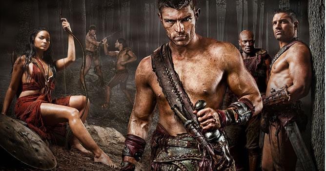 Imagen promocional de la segunda temporada, recién finalizada en EEUU (STARZ)