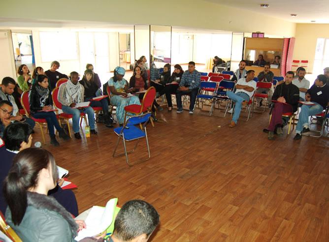 Reunión de activistas árabes y españoles en Marruecos