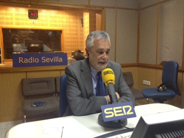 """Griñán: """"El Gobierno ha actuado con prepotencia al romper consensos sociales, políticos e institucionales"""""""