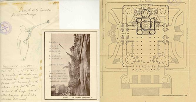 Piezas del 'Gaudí Lab'en el Centro Cultural Blanquerna de Madrid