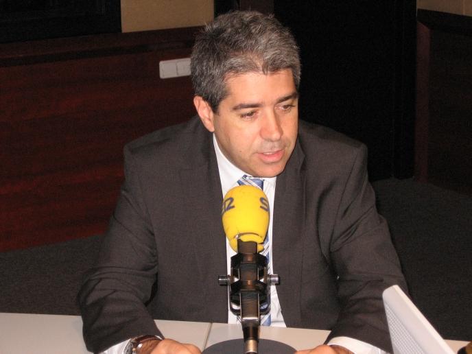 El portavoz de la Generalitat, Francesc Homs, en una imagen de archivo