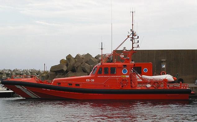 """El vaixell de Salvament Marítim """"Salvamar Sirius"""", amb base a Palamós"""