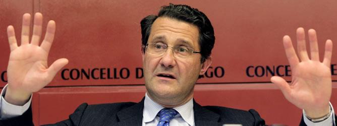 El alcalde de Santiago, Gerardo Conde Roa