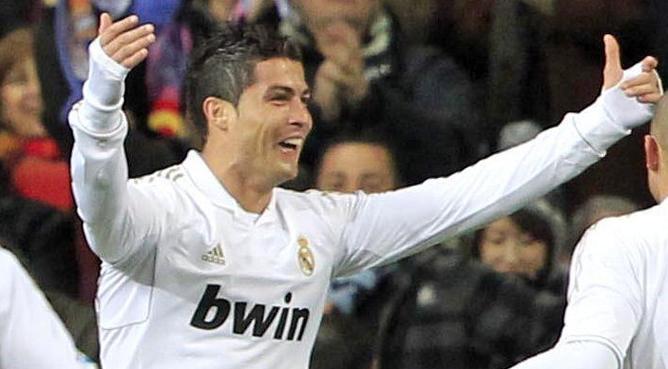 La cresta es indispensable en el corte de pelo de Ronaldo