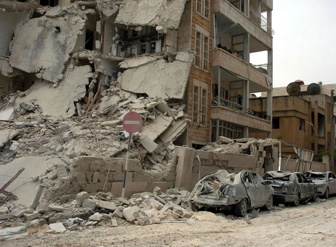 Dos bombas han estallado en el noroeste de siria, la ciudad de Iblid