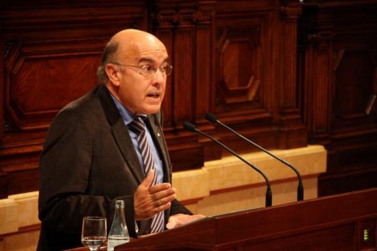 El consejero de Salud de la Generalitat, Boi Ruiz