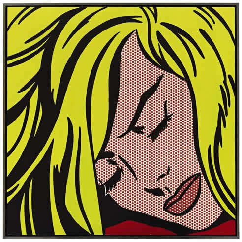'Chica durmiendo', de Roy Lichtenstein, se ha vendido en Nueva York por 44,8 millones de dólares (34,6 millones de euros) en una subasta en Sotheby's
