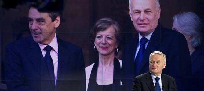 El primer ministro francés, Jean-Marc Ayrault, en 'France 2'