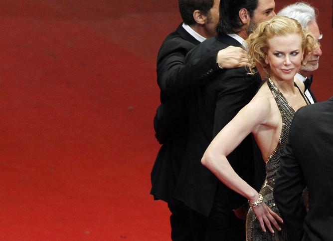 Nicole Kidman, sobre la alfombra roja