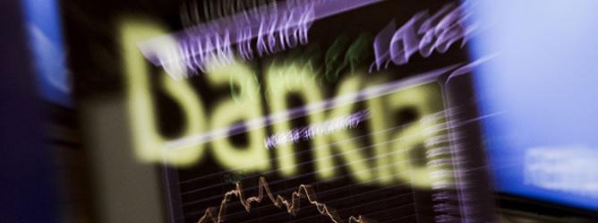 Bankia a registrado pérdidas del 27% en la apertura de la Bolsa de hoy