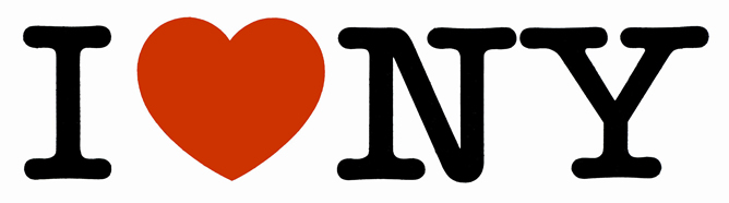 El logo 'I Love NY' fue creado en la década de los 70 por Milton Glaser para promocionar el turismo en Nueva York